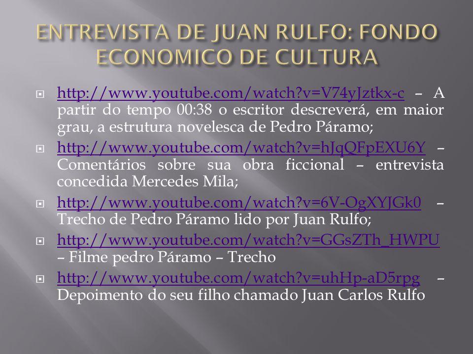 ENTREVISTA DE JUAN RULFO: FONDO ECONOMICO DE CULTURA