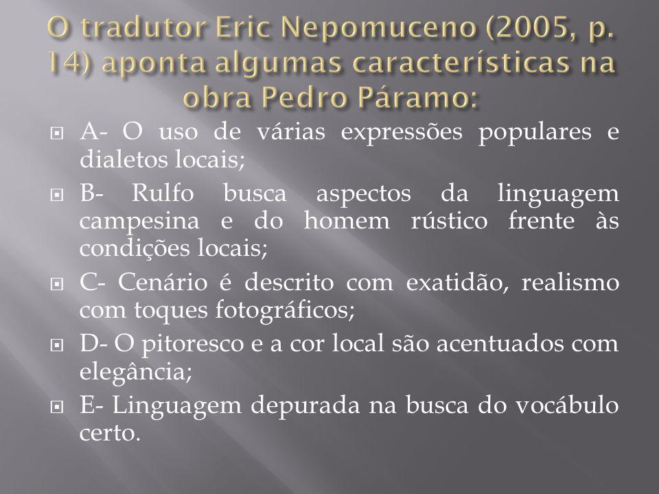 O tradutor Eric Nepomuceno (2005, p