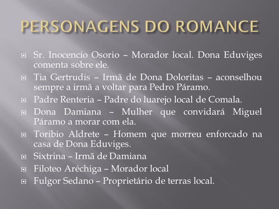 PERSONAGENS DO ROMANCE