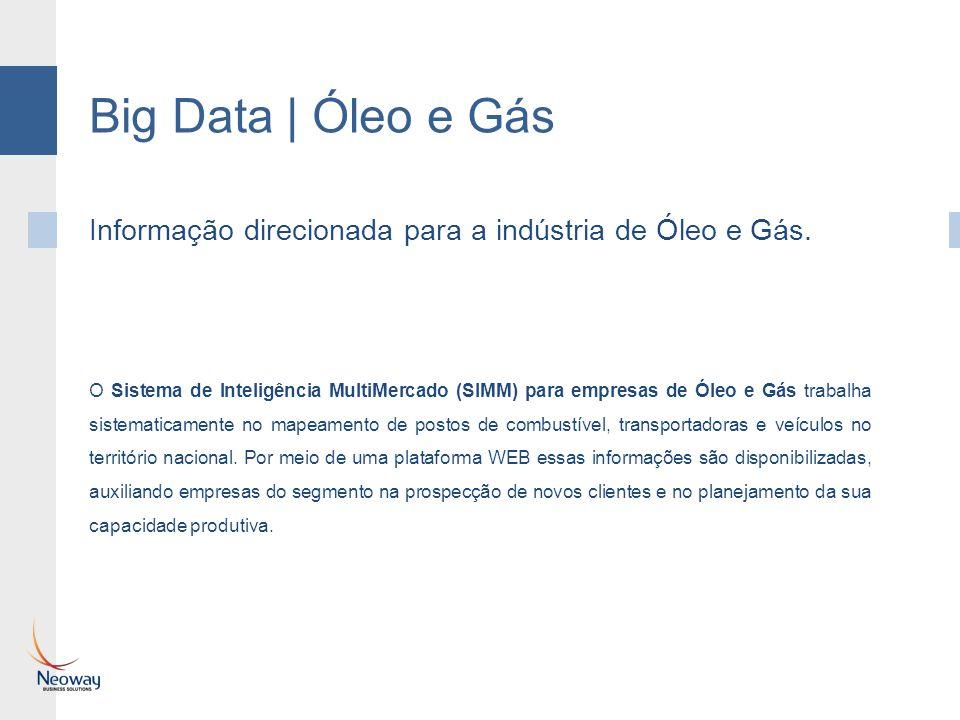 Big Data | Óleo e Gás Informação direcionada para a indústria de Óleo e Gás.