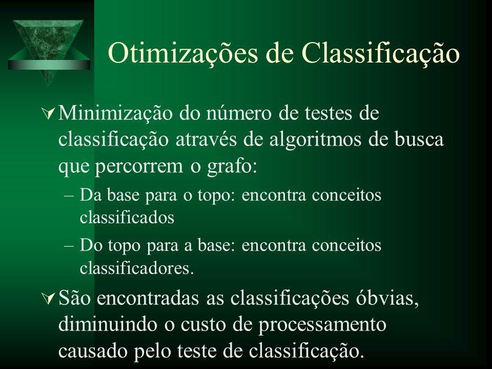 Otimizações de Classificação