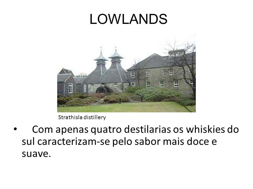 LOWLANDS Strathisla distillery.