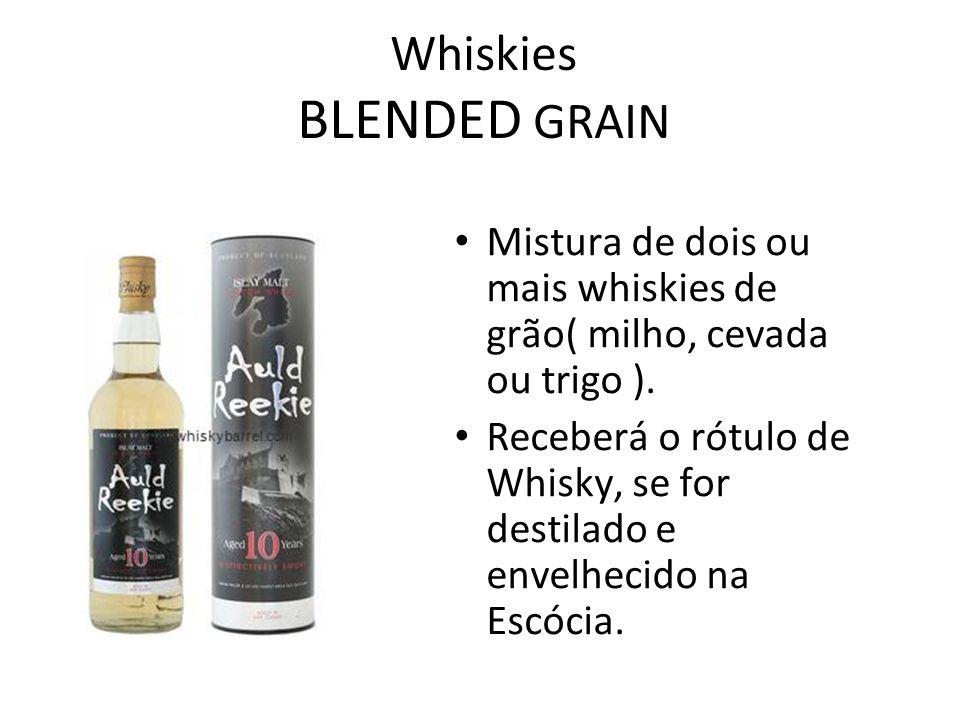 Whiskies BLENDED GRAIN