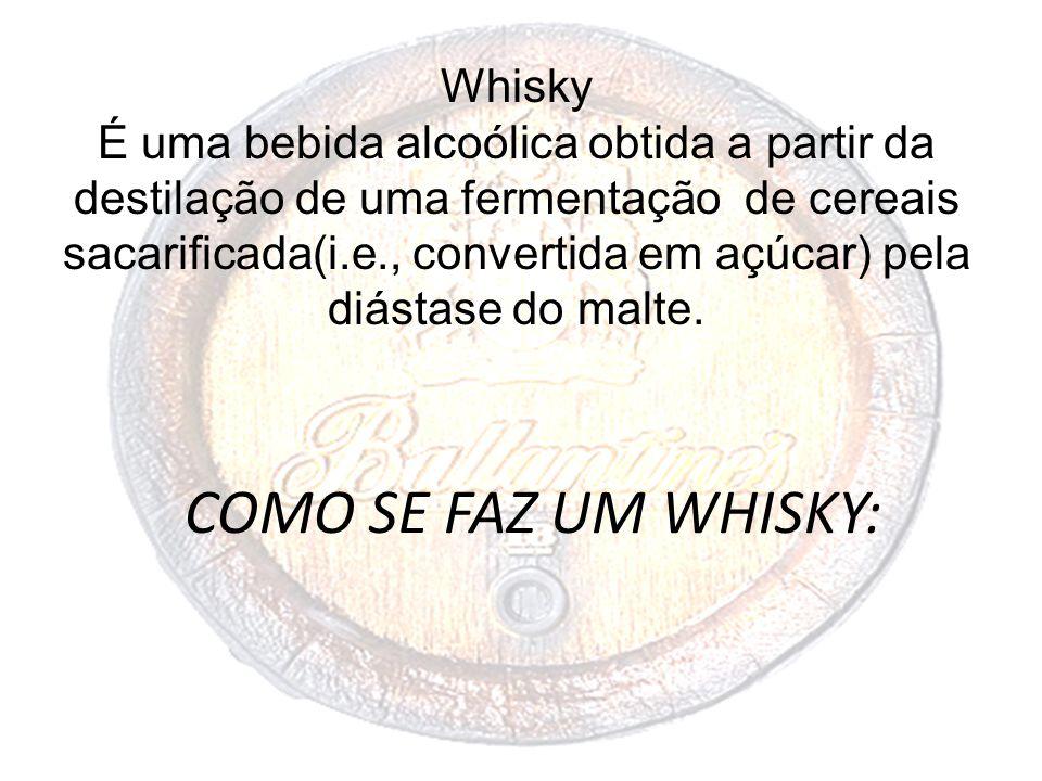 COMO SE FAZ UM WHISKY: Whisky