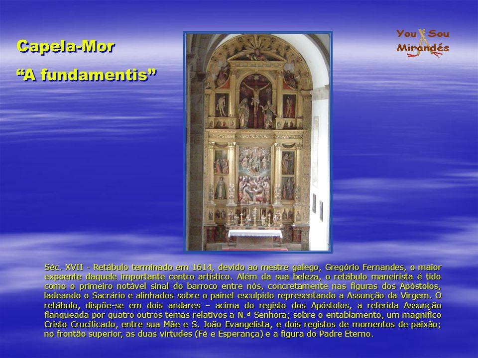 Capela-Mor A fundamentis