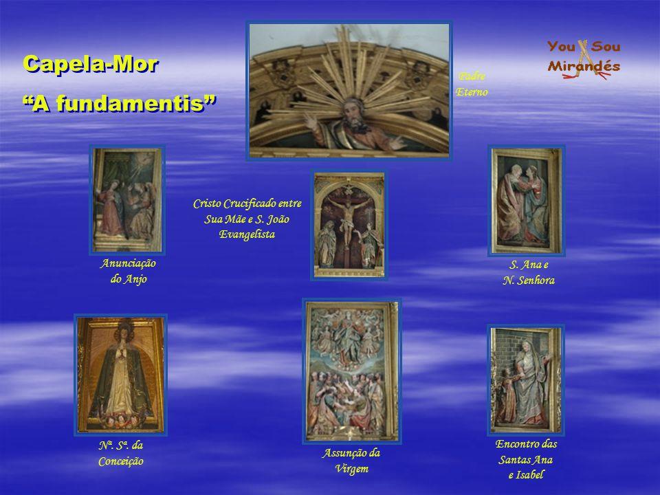 Capela-Mor A fundamentis Padre Eterno