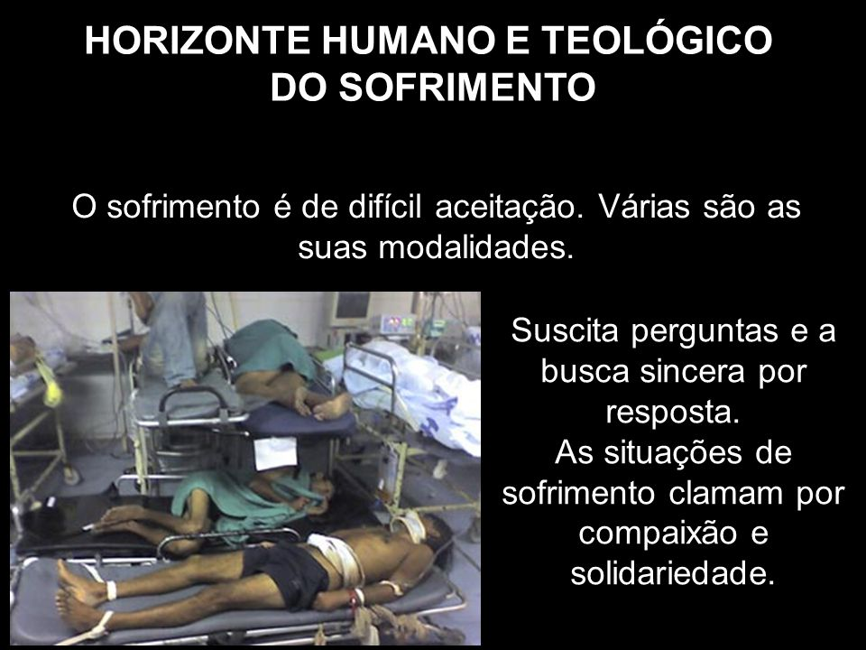HORIZONTE HUMANO E TEOLÓGICO