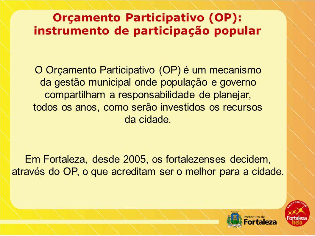 Orçamento Participativo (OP): instrumento de participação popular