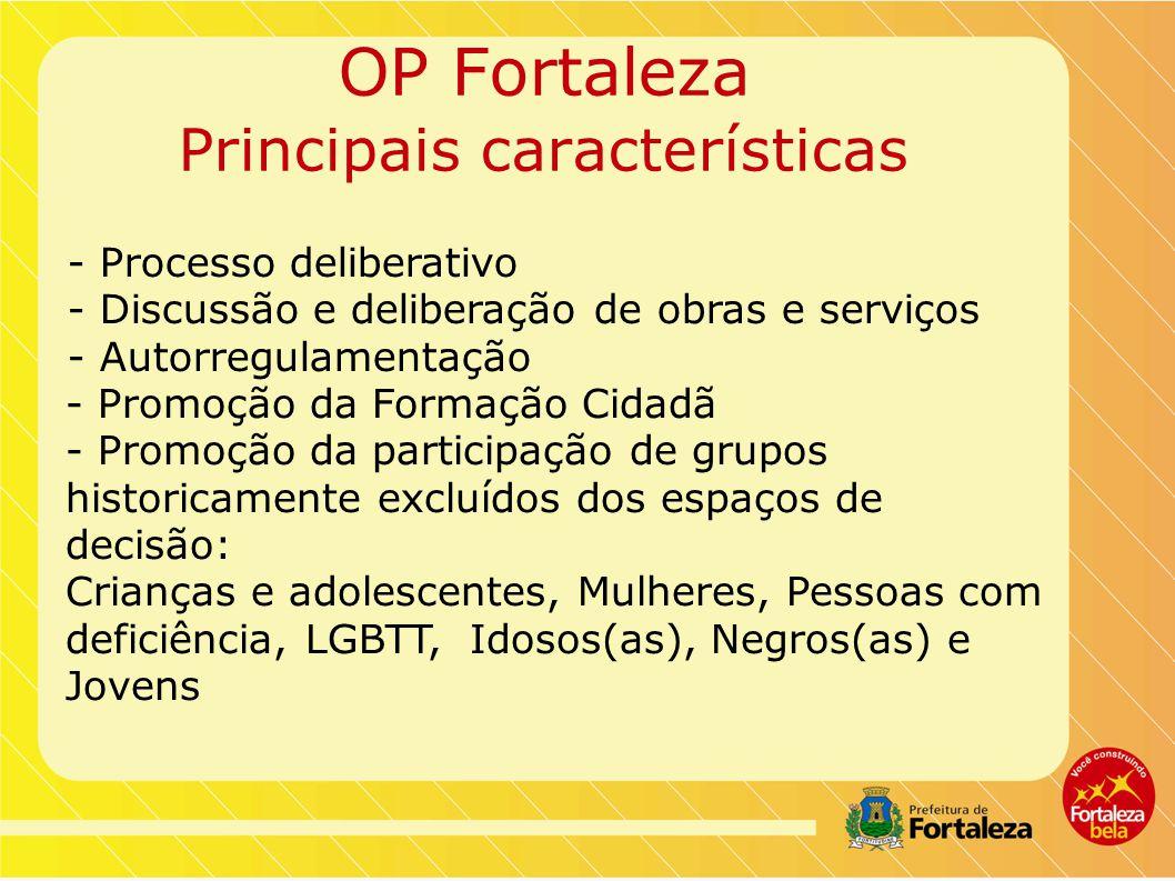 OP Fortaleza Principais características