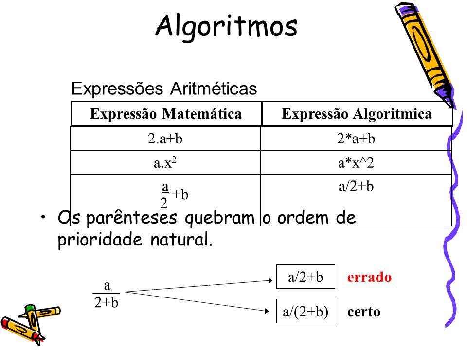 Expressão Algoritmica