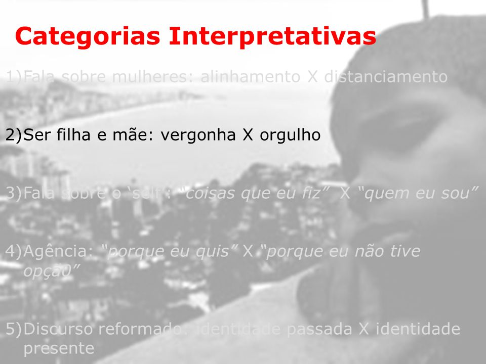 Categorias Interpretativas