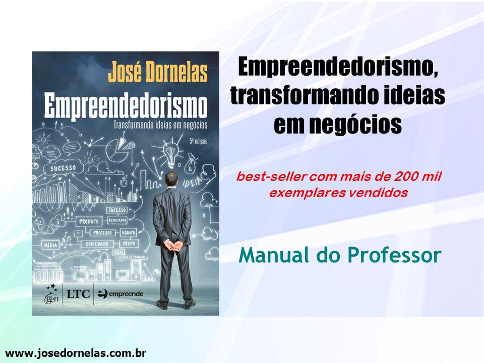 Empreendedorismo, transformando ideias em negócios best-seller com mais de 200 mil exemplares vendidos