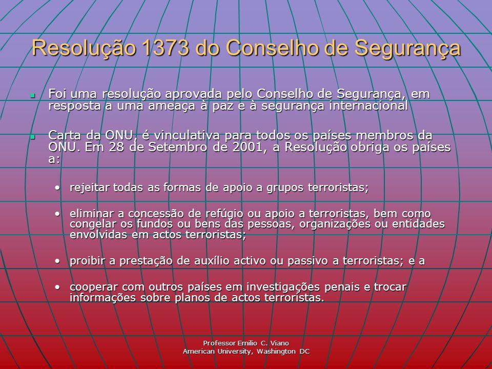 Resolução 1373 do Conselho de Segurança