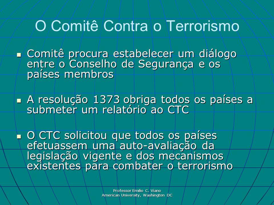 O Comitê Contra o Terrorismo