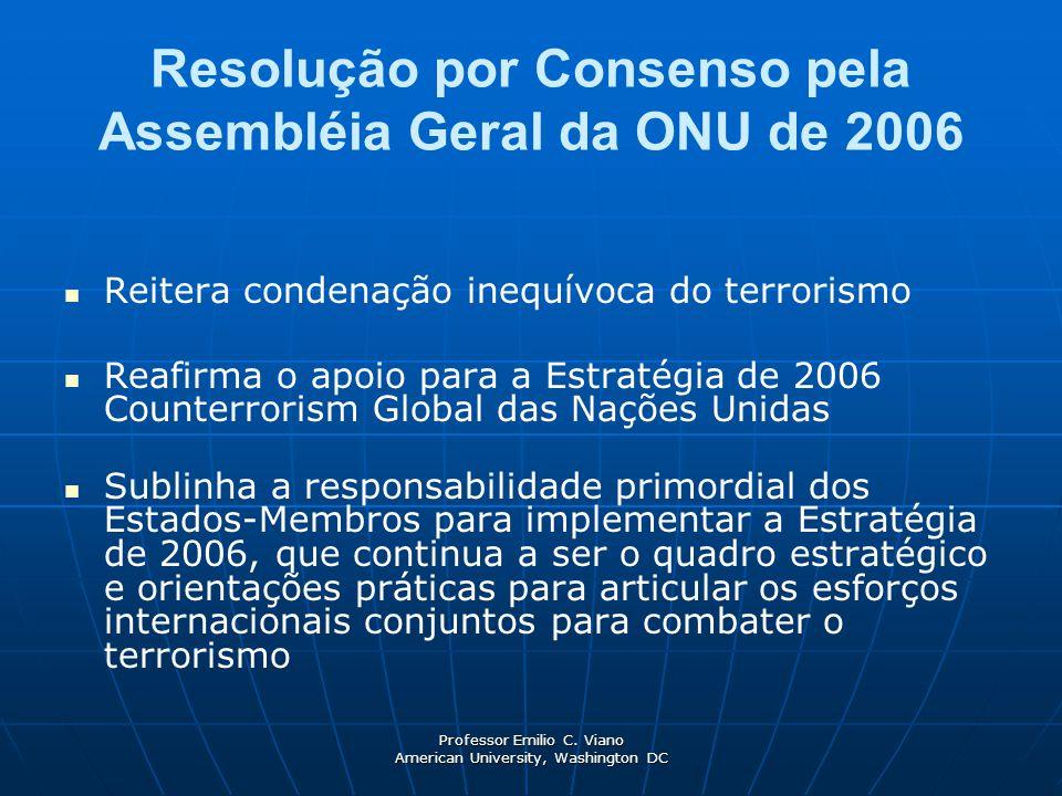 Resolução por Consenso pela Assembléia Geral da ONU de 2006