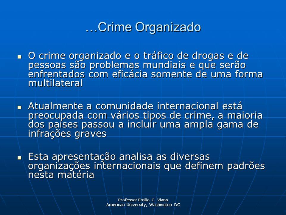 …Crime Organizado