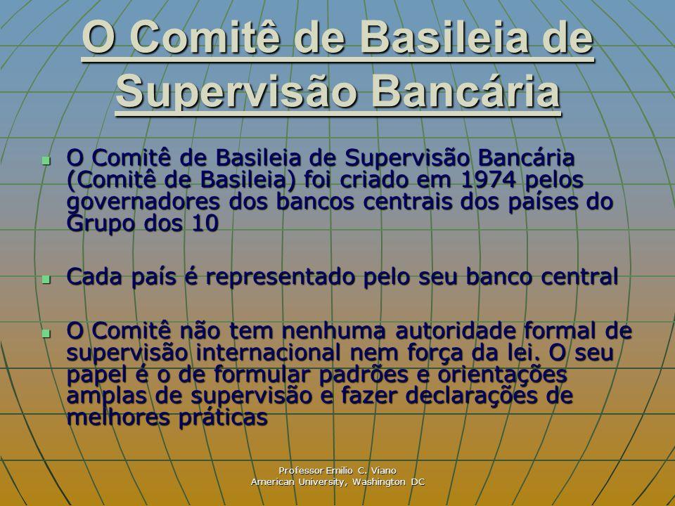 O Comitê de Basileia de Supervisão Bancária