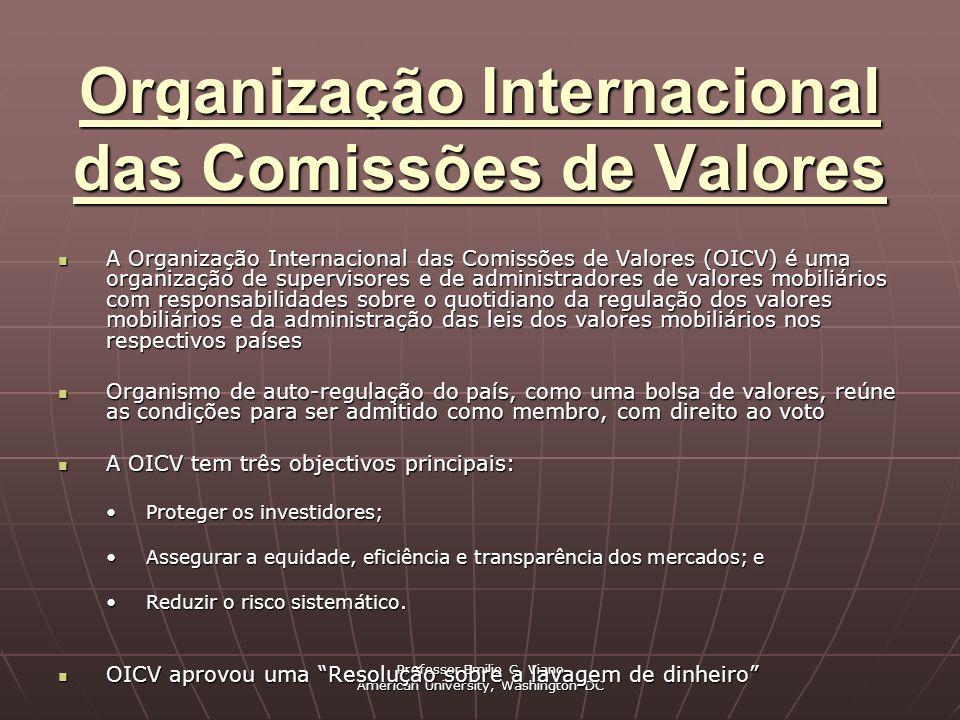Organização Internacional das Comissões de Valores