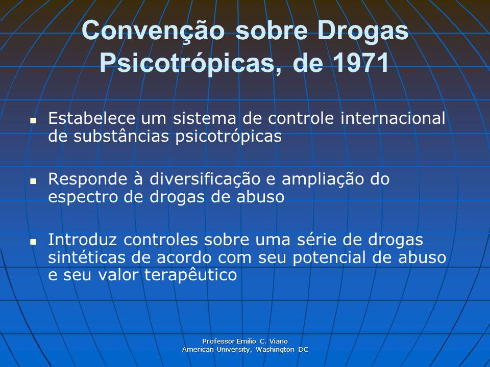 Convenção sobre Drogas Psicotrópicas, de 1971