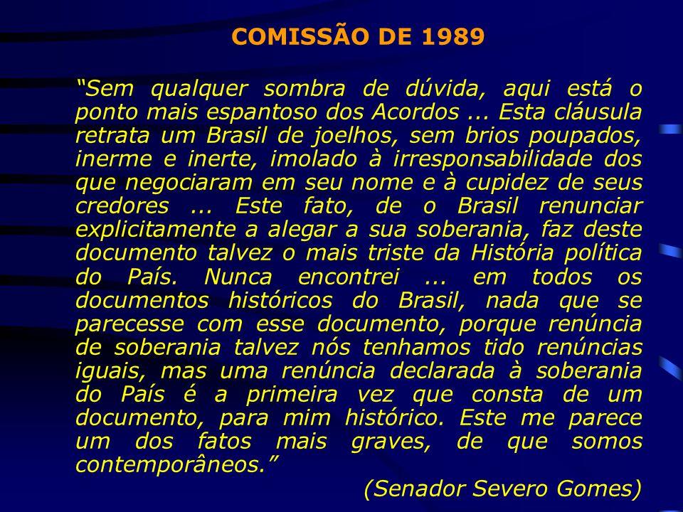 COMISSÃO DE 1989
