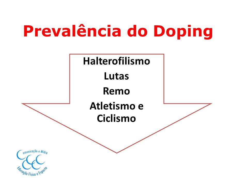 Halterofilismo Lutas Remo Atletismo e Ciclismo