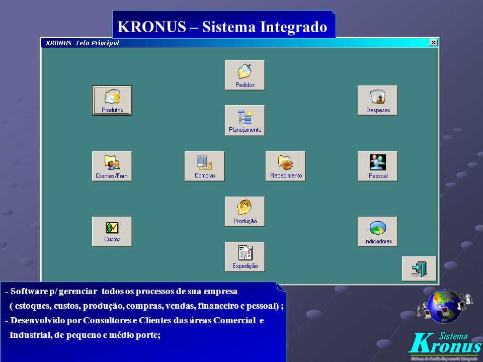 KRONUS – Sistema Integrado