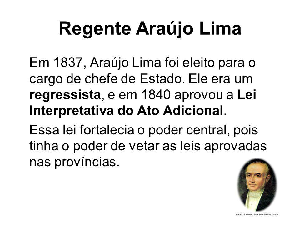 Regente Araújo Lima