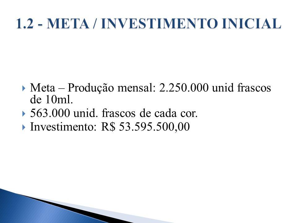1.2 - META / INVESTIMENTO INICIAL