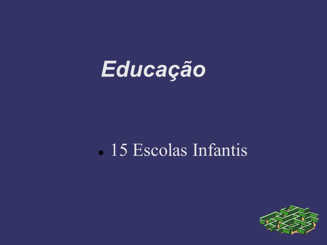 Educação 15 Escolas Infantis