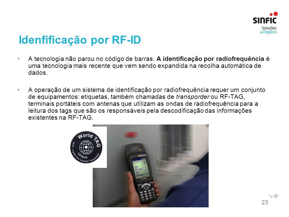 Idenfificação por RF-ID