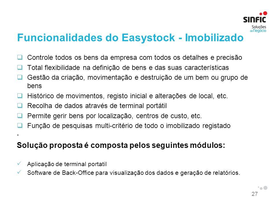 Funcionalidades do Easystock - Imobilizado