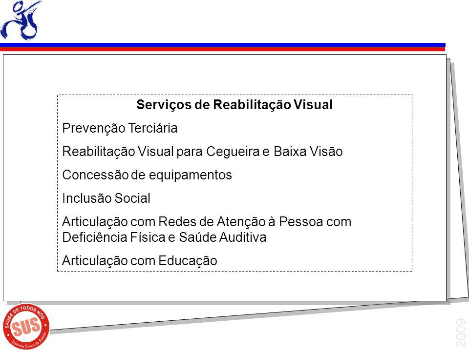 Serviços de Reabilitação Visual