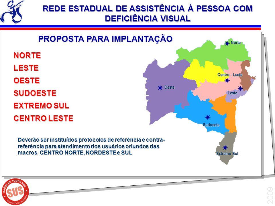 REDE ESTADUAL DE ASSISTÊNCIA À PESSOA COM DEFICIÊNCIA VISUAL
