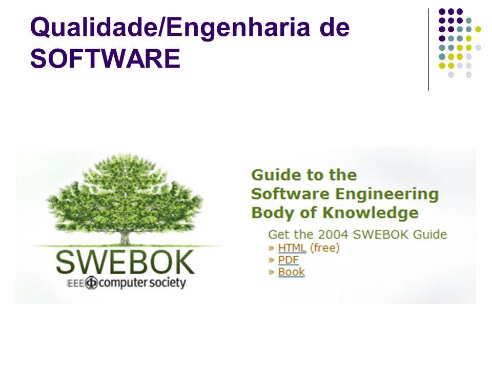 Qualidade/Engenharia de SOFTWARE