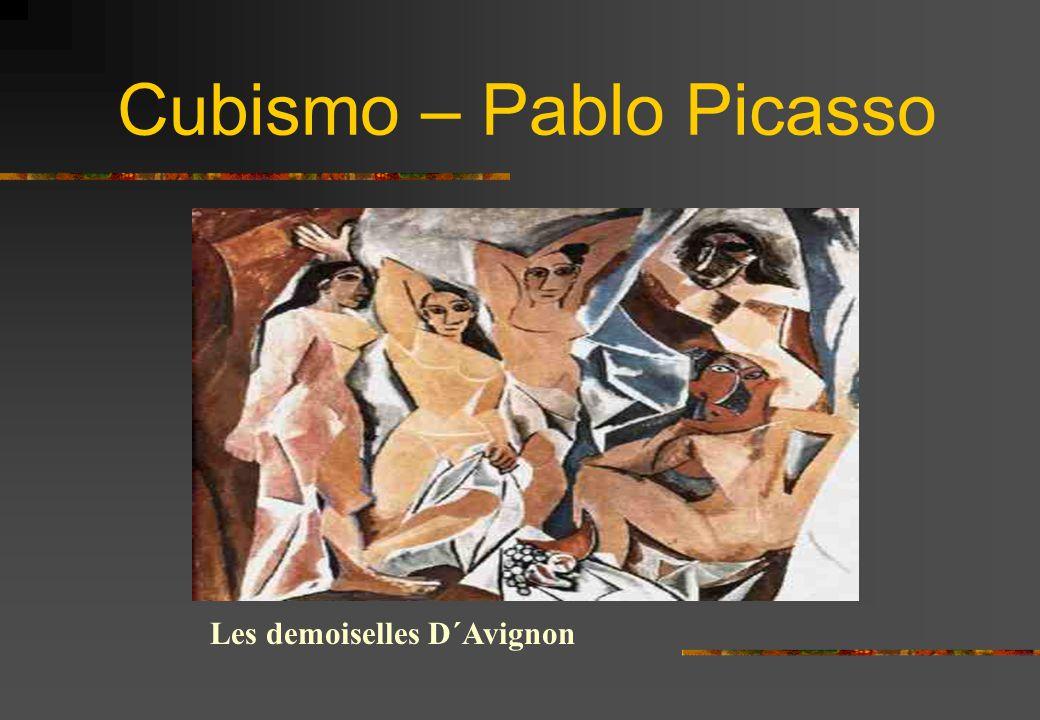 Cubismo – Pablo Picasso