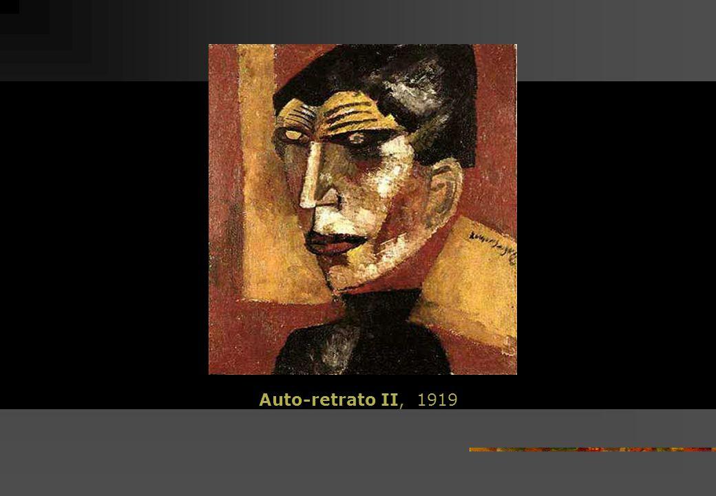 Auto-retrato II, 1919