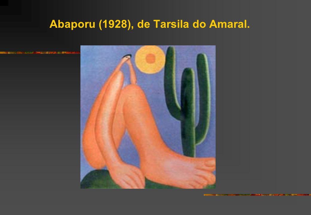 Abaporu (1928), de Tarsila do Amaral.