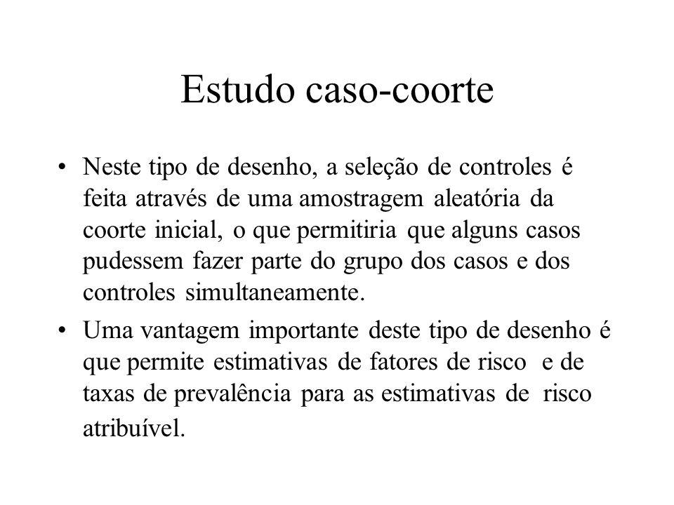Estudo caso-coorte