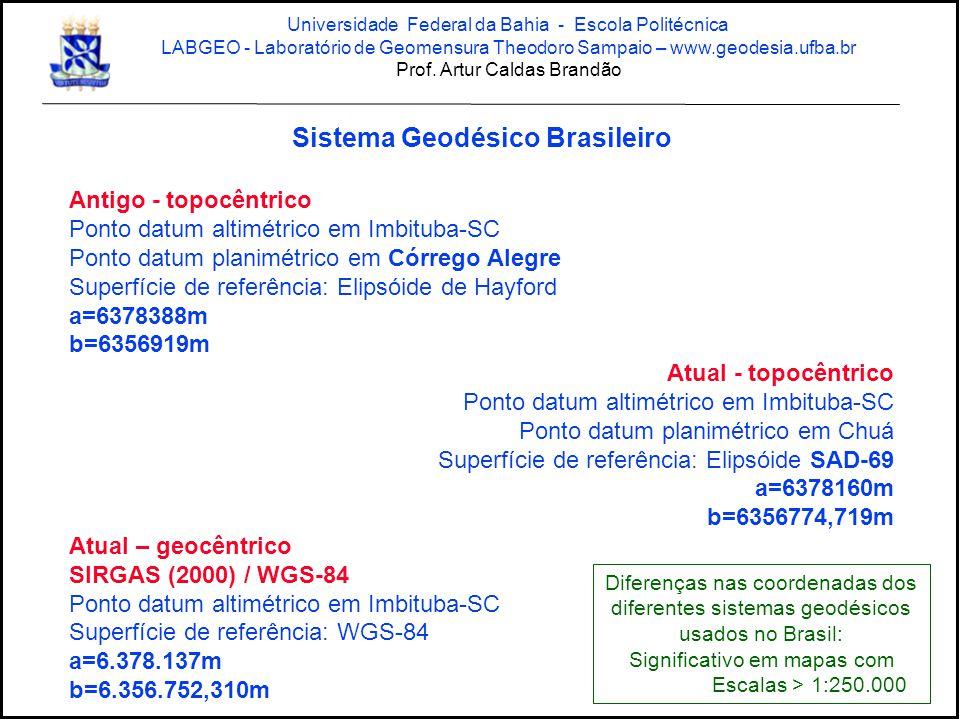 Sistema Geodésico Brasileiro
