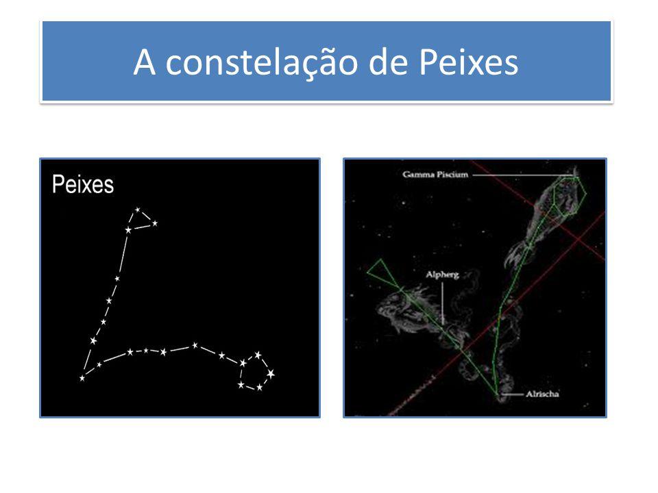 A constelação de Peixes