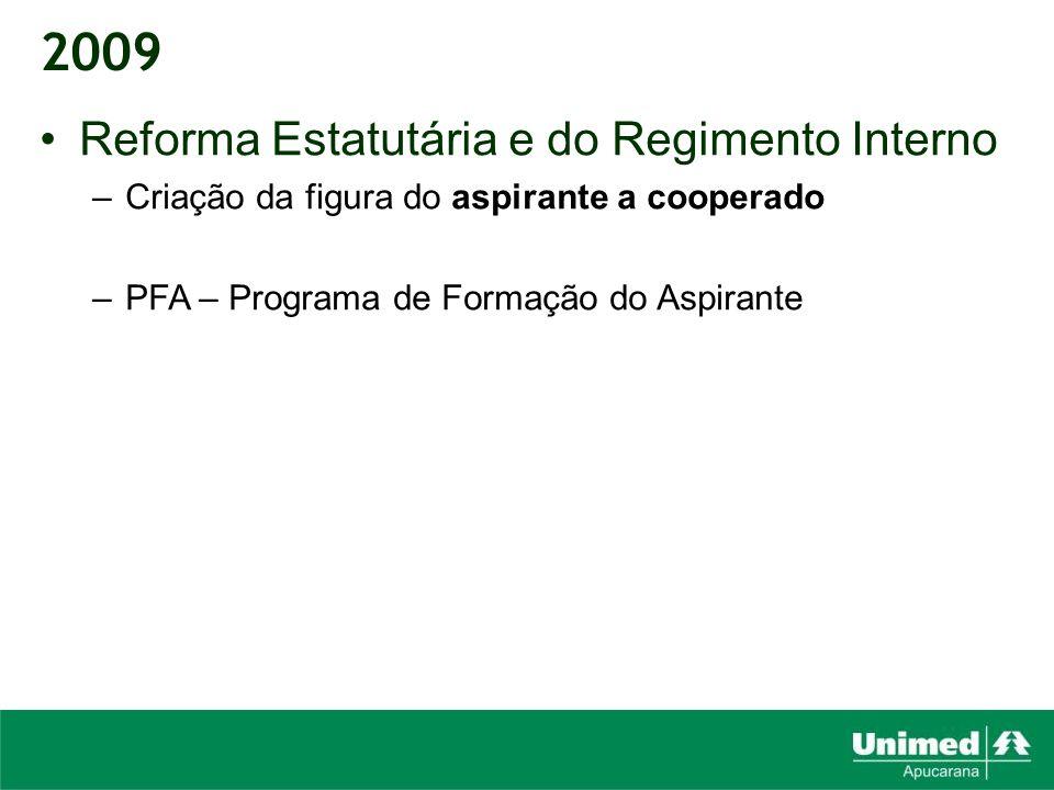 2009 Reforma Estatutária e do Regimento Interno