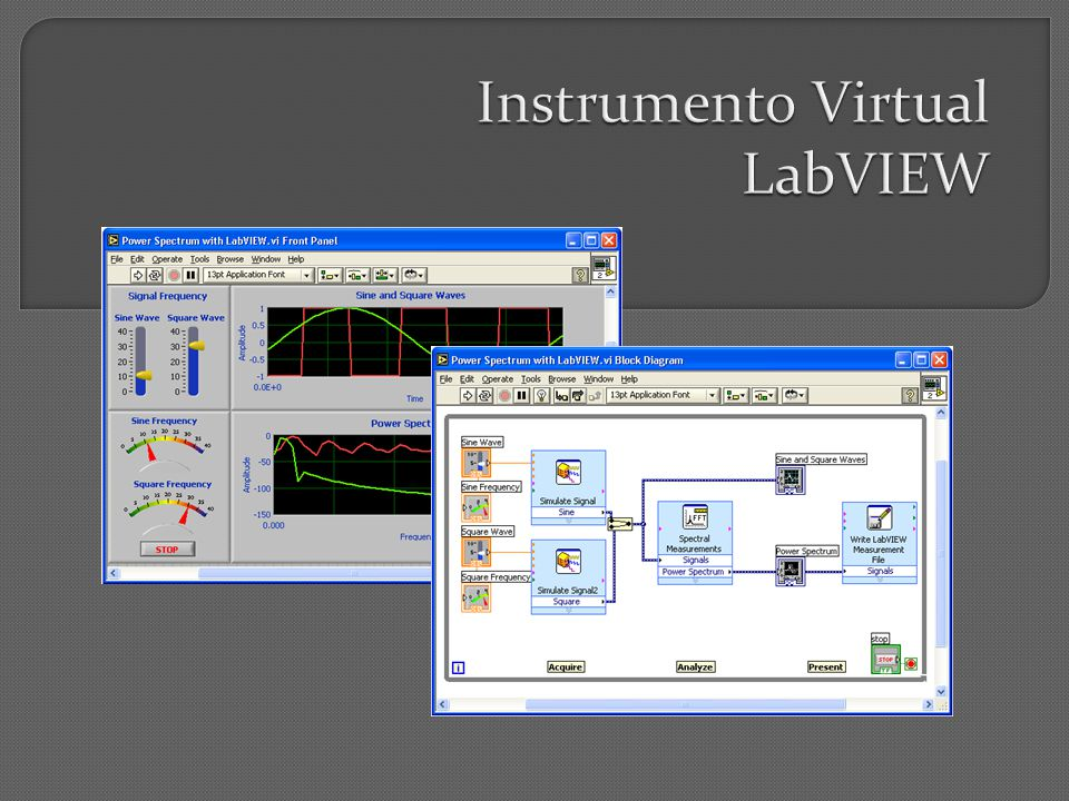Instrumento Virtual LabVIEW