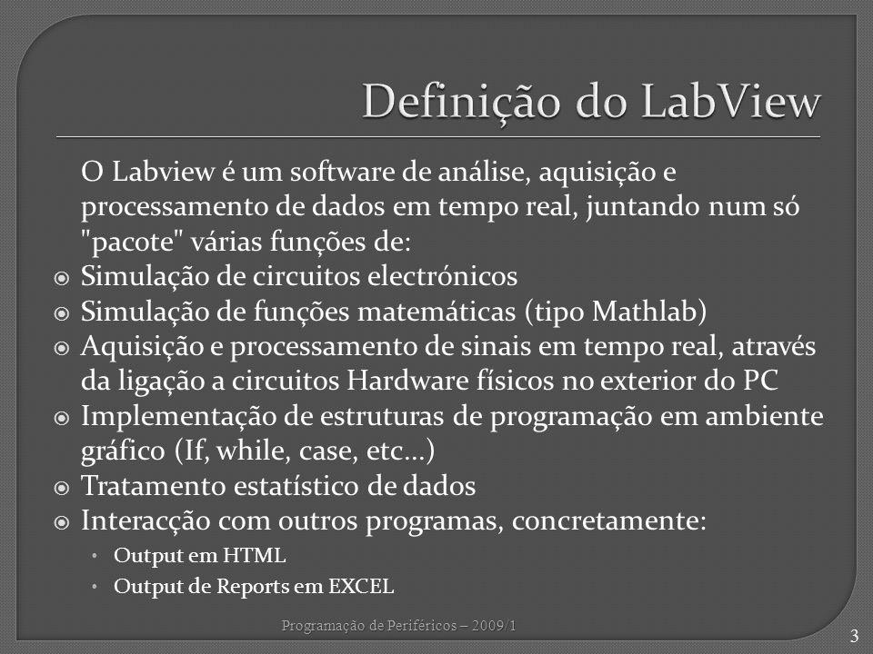Definição do LabView
