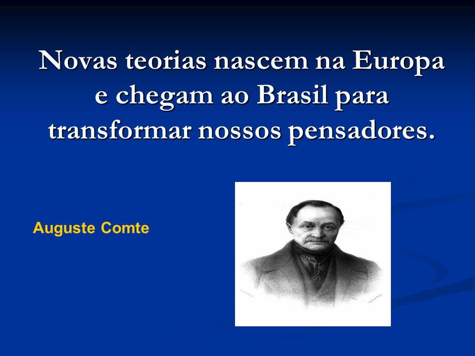 Novas teorias nascem na Europa e chegam ao Brasil para transformar nossos pensadores.