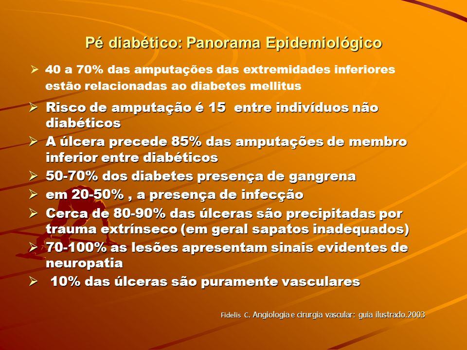 Pé diabético: Panorama Epidemiológico