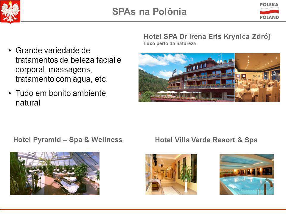 SPAs na Polônia Hotel SPA Dr Irena Eris Krynica Zdrój. Luxo perto da natureza.