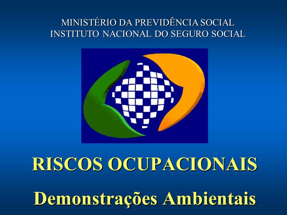 RISCOS OCUPACIONAIS Demonstrações Ambientais