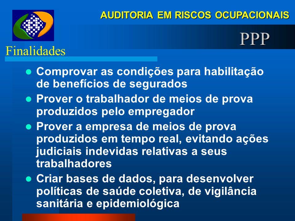 AUDITORIA EM RISCOS OCUPACIONAIS