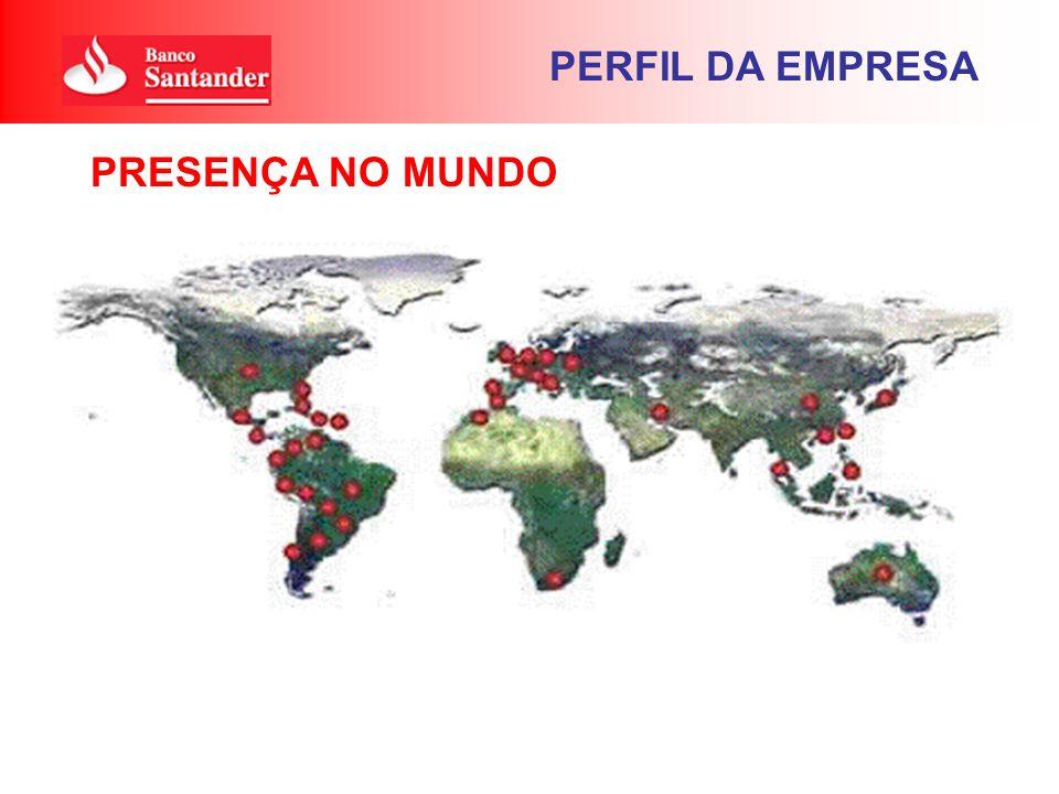 PERFIL DA EMPRESA PRESENÇA NO MUNDO