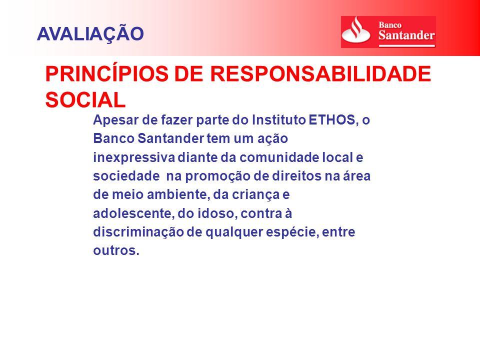 PRINCÍPIOS DE RESPONSABILIDADE SOCIAL